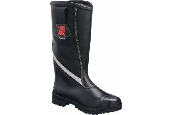 TUFFKING Men's Leather Firefighters Boot