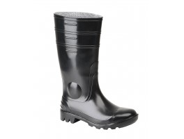 Black Wellington Boot