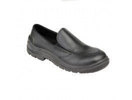 Ladies Black Slip on Shoe