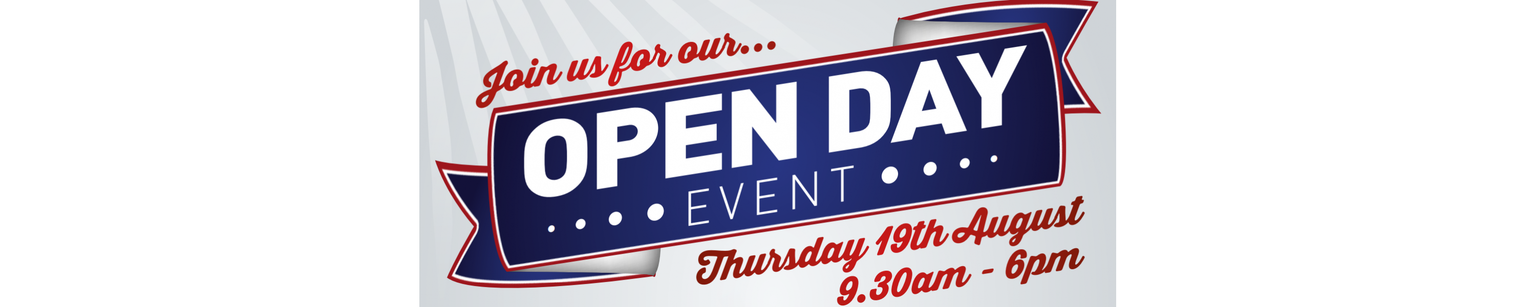Open Day 19th August 2021