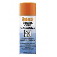 Ambersil Bright Cold Galvanise Spray