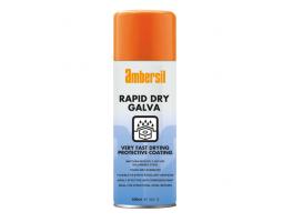 Ambersil Rapid Dry Zinc Galvanise Spray