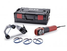 BRE 8-4 9 TRINOXFLEX Pipe belt sander Set (230V)