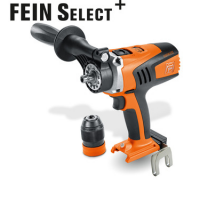 ASCM 18 QM Select 4-speed cordless drill/driver