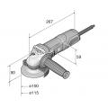 WSG 7-115 Compact Angle Grinder 230v