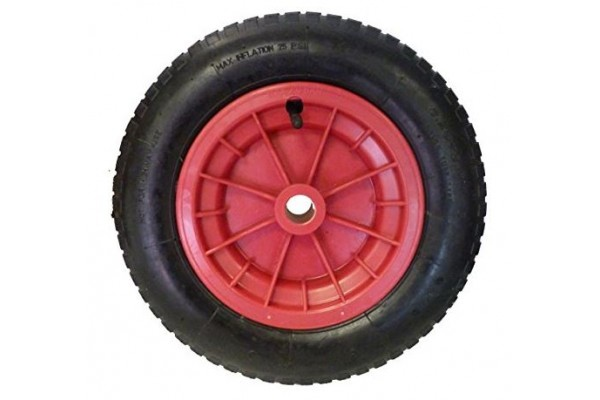 Pneumatic (Inflatable) Wheel For Trolley