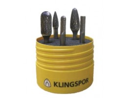 Klingspor Carbide Burr HF 100 5 piece Set
