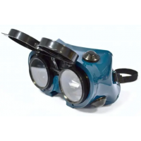Flip Front Goggles clear / shade 5