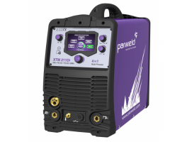 Parweld XTM 211DI Digital Multi Process 4 in 1 Inverter Welder MIG/TIG/MMA 230V