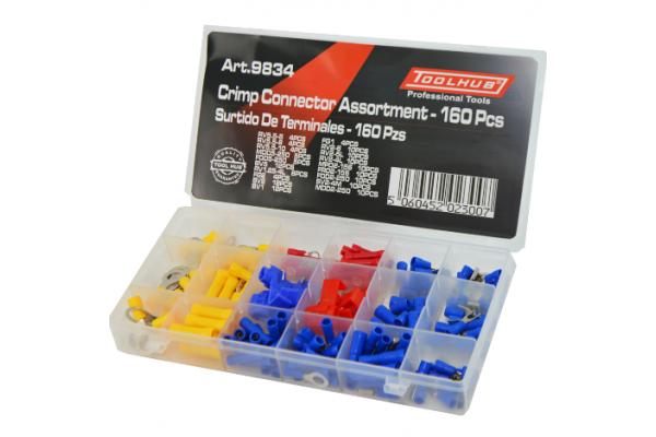 Crimp Connector set 160 Piece