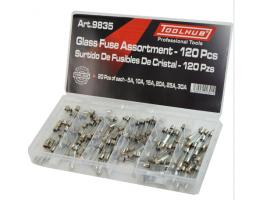 Glass Fuse assortment set 120 Piece