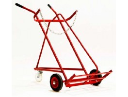 Oxy/Acet Twin 3 Wheel Trolley