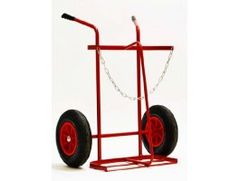 Oxy/Acet Twin Trolley with 16' Wheels