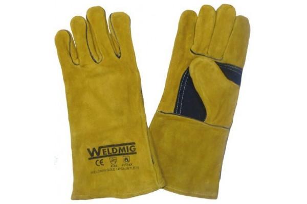 Gold MIG Glove