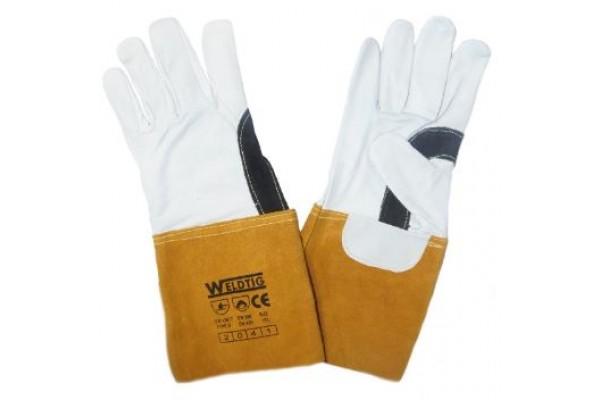 Gold TIG Gloves