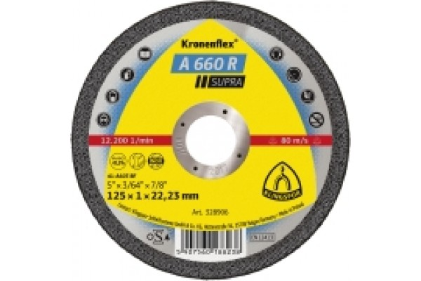 A660 R Supra 1mm Slitting Disc 115mm