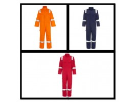 HI VIS Flame Retardant Overalls (Anti-static)
