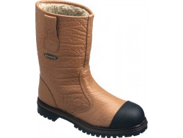 Tan Leather Lined Rigger Boot