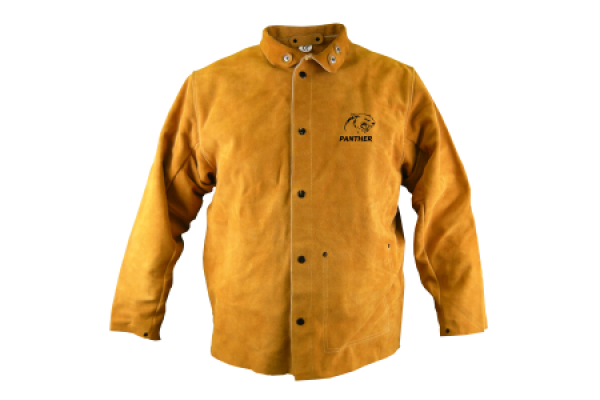 Panther Leather Welders Jacket